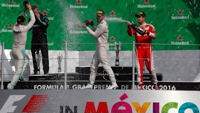 Hamilton obtiene triunfo en el Gran Premio de México