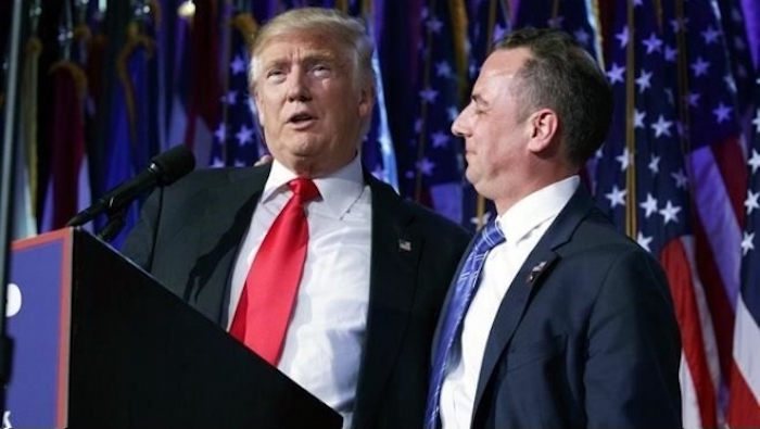 Trump escoge a Reince Priebus como jefe de gabinete