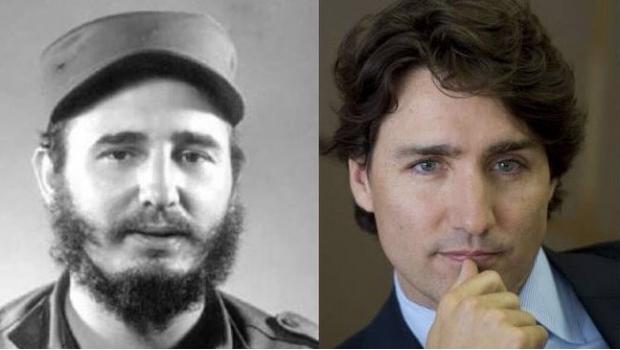 Fidel Castro, ¿padre del Primer Ministro de Canadá?
