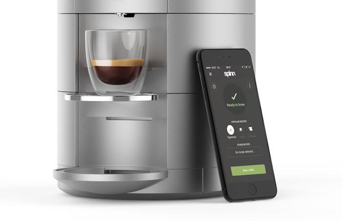 Spinn, la cafetera que podrás gestionar desde el iPhone