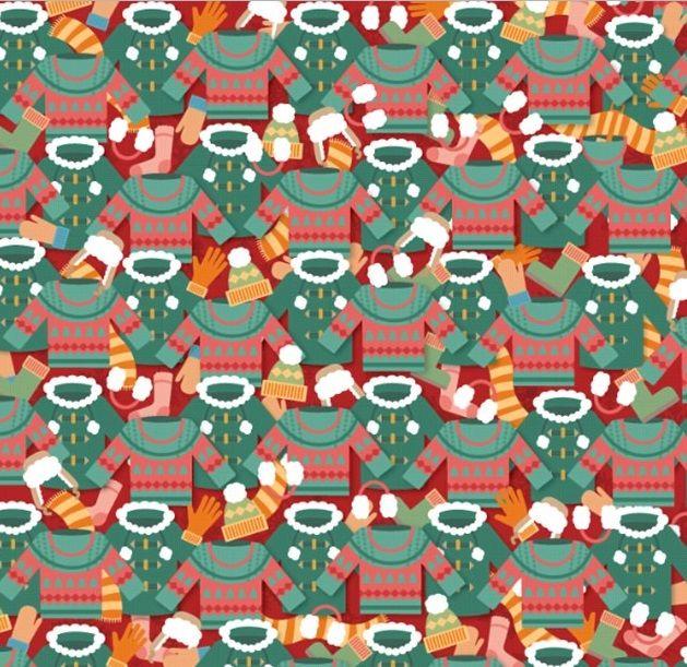 Test intelectual: ¿Puedes ver una cubeta y una pala entre la ropa de invierno?