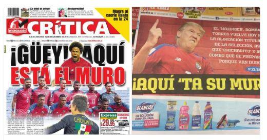 ¡Juego sucio! Diarios panameños se burlan de México