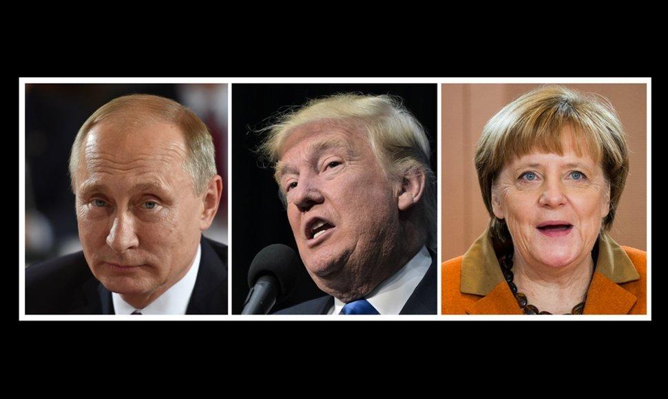 Putin y Trump, los hombres más poderosos del mundo
