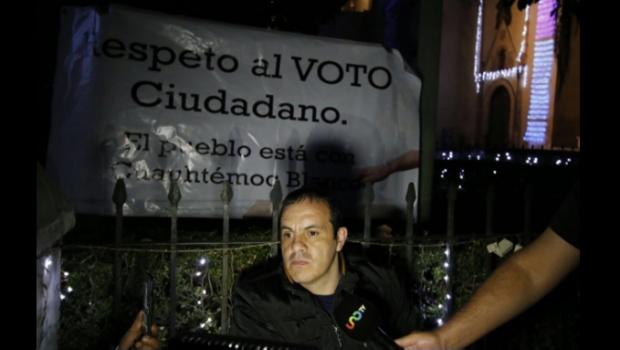 Cuauhtémoc Blanco inicia huelga de hambre