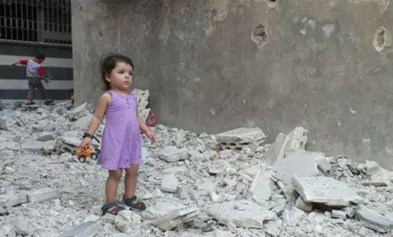 Usan a niña para ataque suicida en Siria