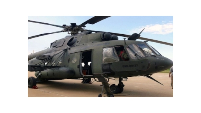 Reportan desaparición de helicóptero militar en Venezuela