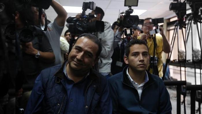 Por fraude, hijo y hermano del presidente de Guatemala son enviados a prisión