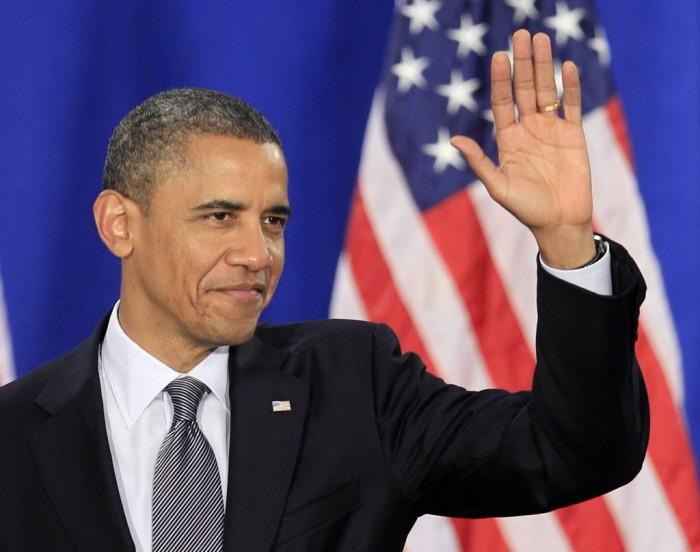 """Obama emite su último """"tuit"""" como presidente de EU"""