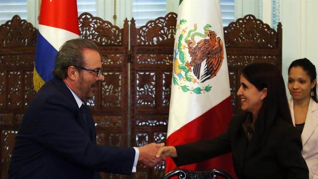 Cuba acuerda con EEUU y México cerrar disputa marítima en el Golfo de México.