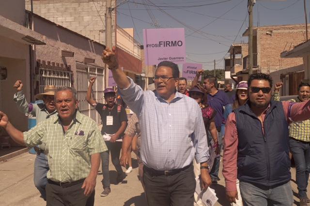 TENGO EL CORAJE SUFICIENTE PARA ENFRENTAR AL SISTEMA Y A SUS INJUSTICIAS : JAVIER GUERRERO
