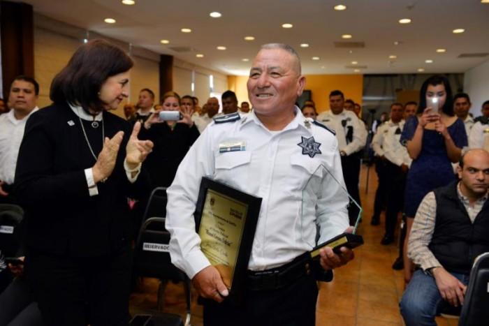 Reconocen labor de Jesús Avilés Cerda en la Policía Municipal