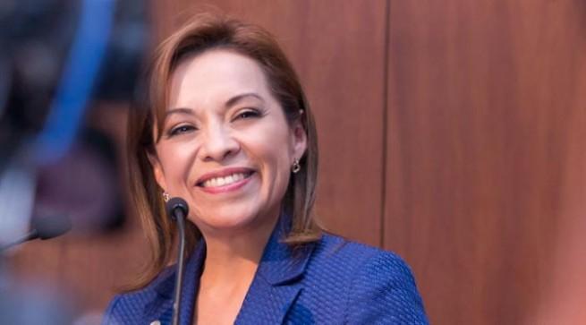 Vázque Mota se registra como precandidata del PAN para el Edomex.