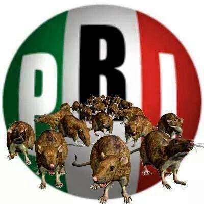 Nuevo PRI símbolo de sinvergüenza.