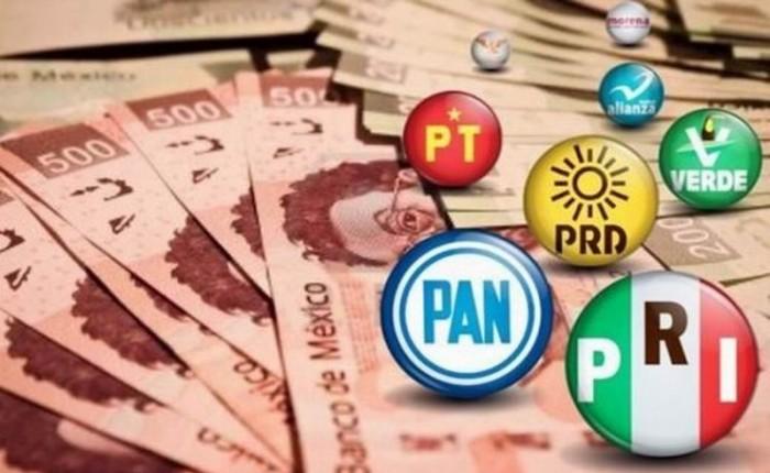 Millones de pesos tirados por los Partidos Políticos en Coahuila