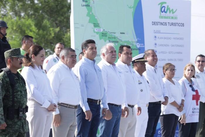 LOS DESTINOS TURÍSTICOS DE TAMAULIPAS CON VIGILANCIA ESPECIAL