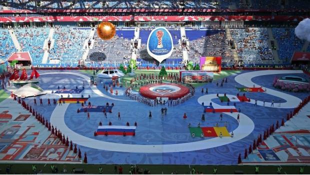Desangelada ceremonia de apertura en Copa Confederaciones