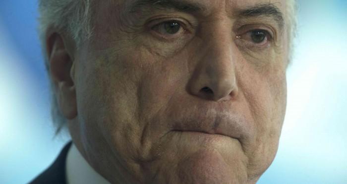 Acusan al presidente de Brasil de aceptar sobornos