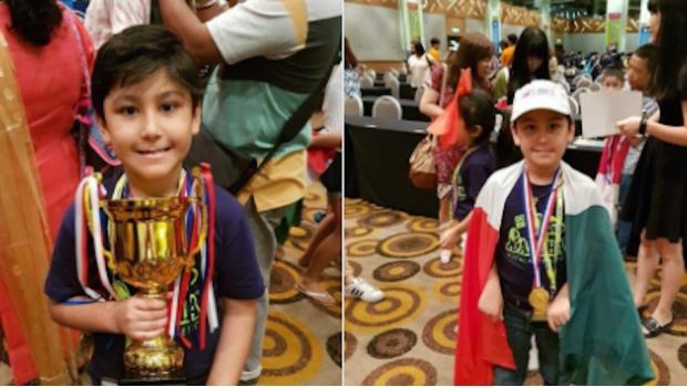 Niño mexicano se impone en Campeonato Mundial de Aritmética