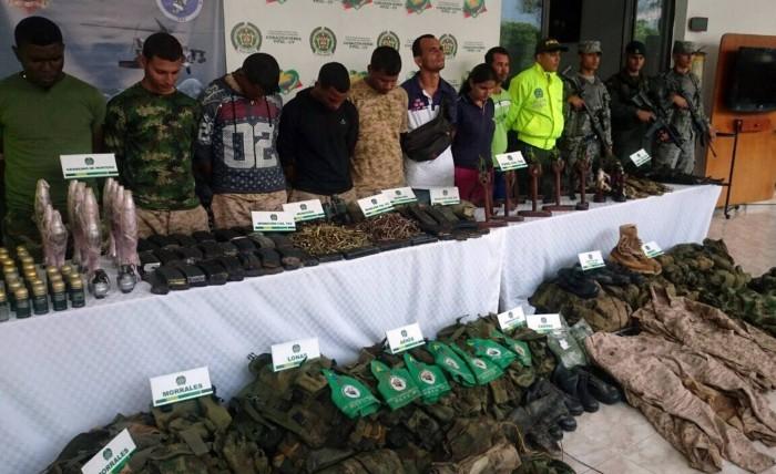 Así son los grupos armados que combate Colombia tras la paz con las FARC