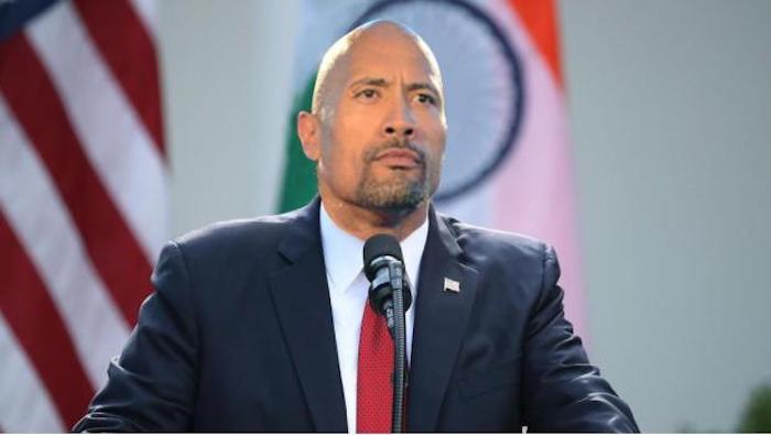 La Roca es registrada como candidato a presidencia de Estados Unidos en 2020