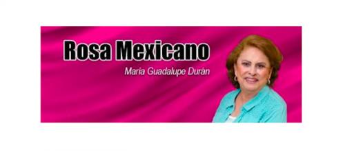 ROSA MEXICANO     Verde como al perico, puso  Erre a Gabriela de Leòn