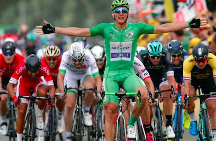 Kittel gana la décima etapa del Tour de France; Chris Froome sigue de líder