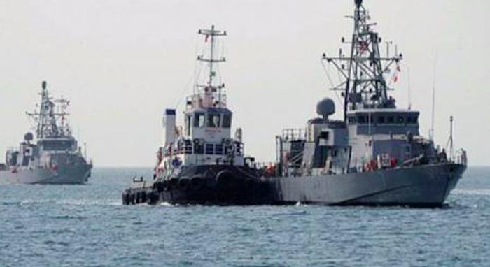 Lanza EU disparos de advertencia a barco iraní en el Golfo Pérsico