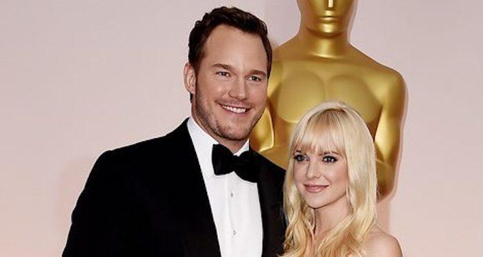 Chris Pratt y Anna Faris anuncian su separación