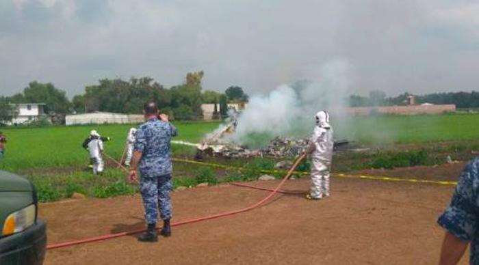 Accidente aéreo, durante prácticas de adiestramiento: SEDENA