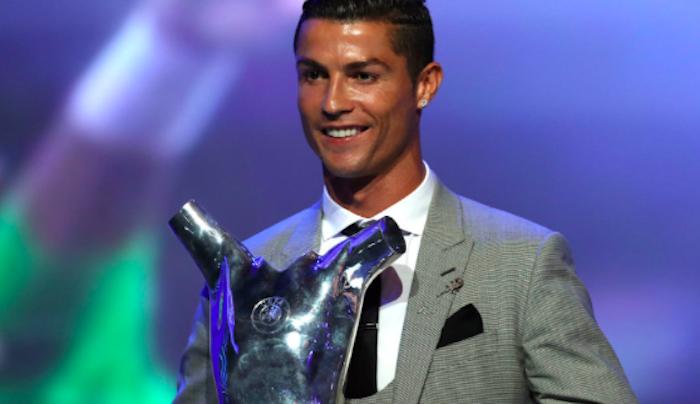 Cristiano Ronaldo, elegido Mejor Jugador de la UEFA
