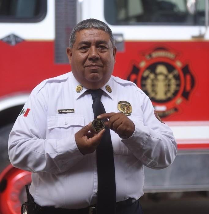 Homenajea Saltillo con Galardón Tláloc a sus bomberos