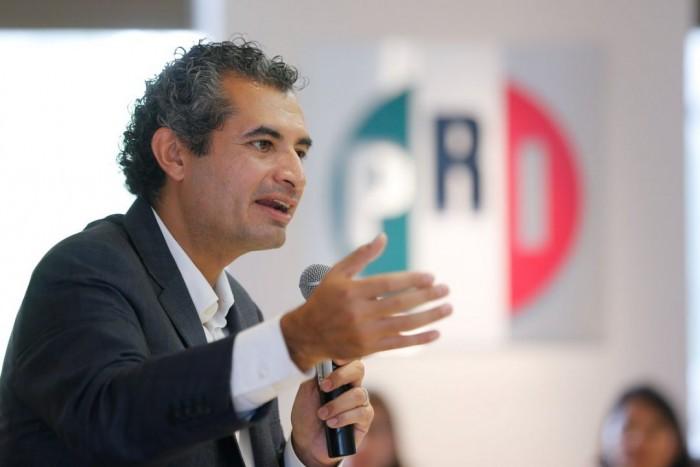"""En PRI """"el tiempo de los candados ya pasó"""": Enrique Ochoa"""