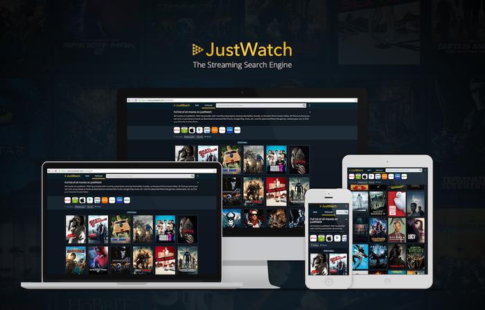 JustWatch, una alternativa para saber dónde ver tus series y películas favoritas