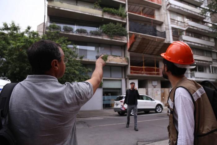 Mas de 4000 ingenieros  y arquitectos recorren Cd de México