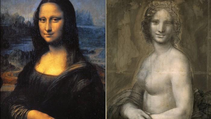 ¿Qué parte de la Mona desnuda es de Da Vinci?