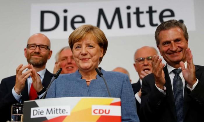 Angela Merkel gana las elecciones de Alemania y la ultraderecha llega al Parlamento