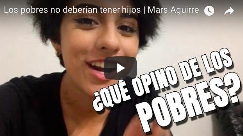 La Mars dice que los pobres no deberían tener hijos (VIDEO)