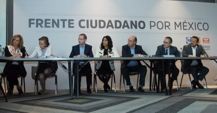 OSC entregan a Frente Ciudadano su plan para una #FiscalíaQueSirva.