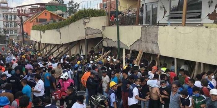 Al menos 37 muertos y 30 heridos hasta el momento en escuela Rebsamen.