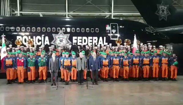 Despiden con ceremonia a brigadistas de Japon y Ecuador