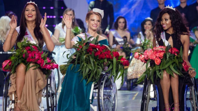 Alexandra Chichikova, primera Miss Mundo en silla de ruedas