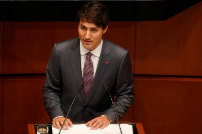 Trudeau recuerda ante el Senado de México que los abusos a las mujeres son inaceptables