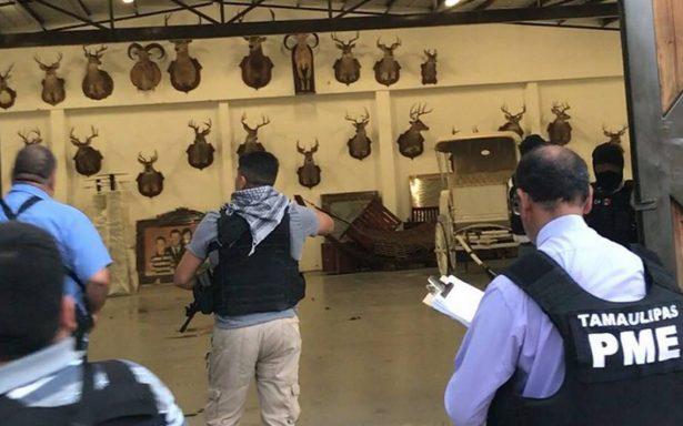 Catean rancho de exgobernador de Tamaulipas