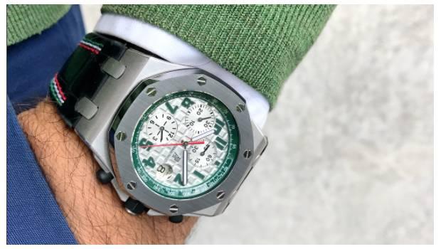 Promociona Audemars Piguet nuevo reloj Pride of México
