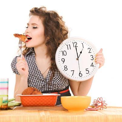 Por que comer rápido influye en el peso.