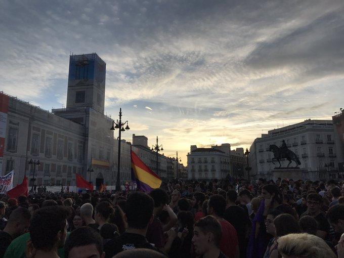 Se dan cita en diferentes ciudades de España contra represión