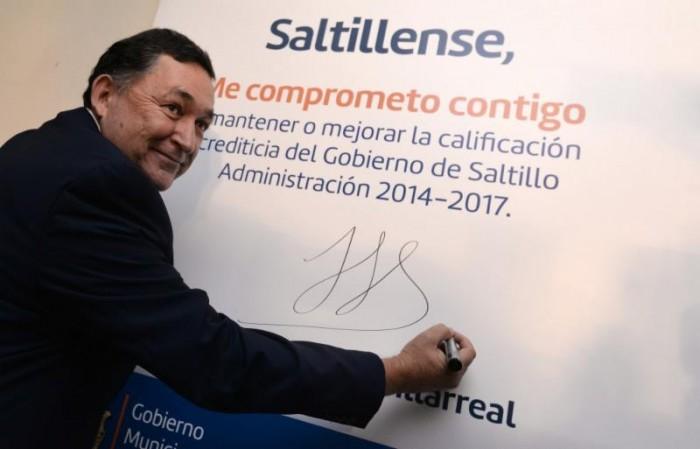 Reconoce calificadora fortaleza financiera de Saltillo