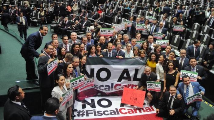 """Peña Nieto no ve condiciones para que haya fiscal """"en el corto plazo"""""""