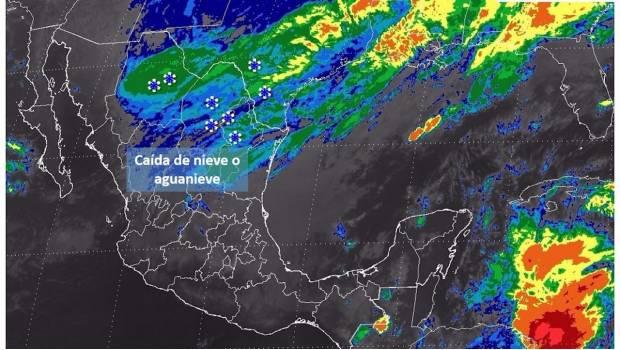 Continuarán nevadas en el norte del país: SMN