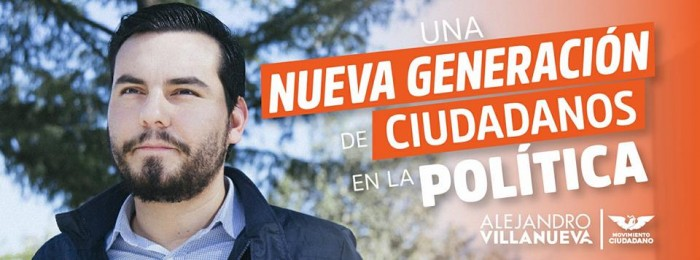 Alejandro Villanueva por Movimiento Ciudadano NL